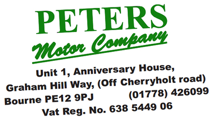 Peters Motor Company, Bourne