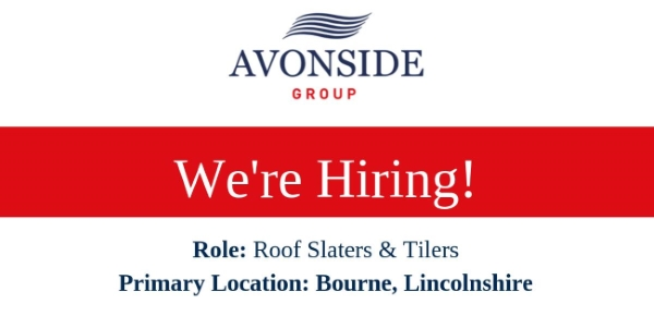 Avonside Roofing - EXPERIENCED ROOF SLATERS & TILERS required