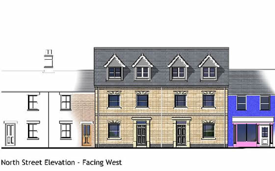 Plans for new North Street apartments