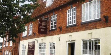 Hansen's Chocolate House, Folkingham, Bourne