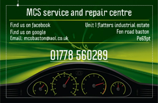 MCS Service and Repair Centre, Bourne