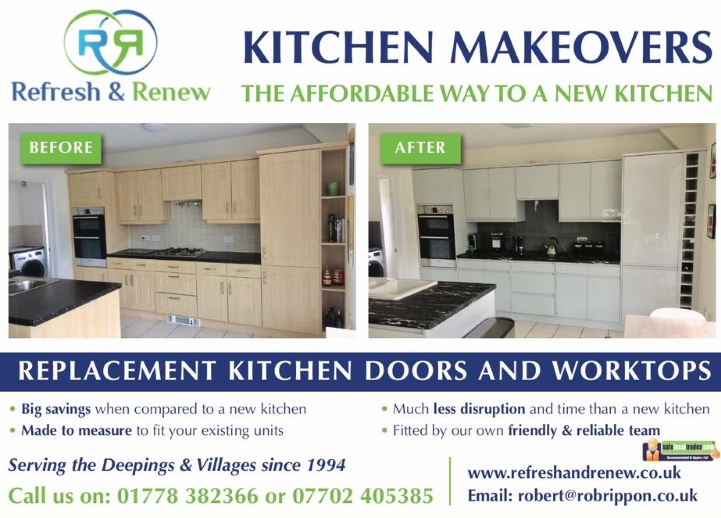 Refresh & Renew Kicthen Makeovers, Bourne.