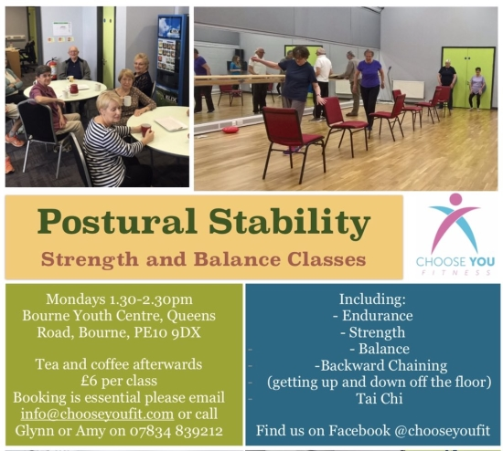 Strength and Balance Classes in Bourne.