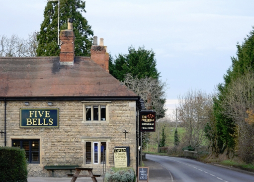 The Five Bells, Edenham