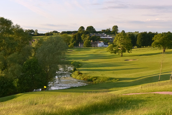 Toft golf course and countryside, Toft, Bourne