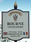 The Bourne Town Sign