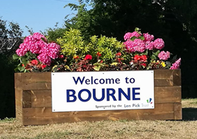 Welcome to Bourne, Lincs